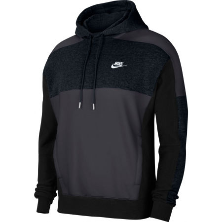 Men's sweatshirt - Nike NSW HOODIE PO BB CB M - 1