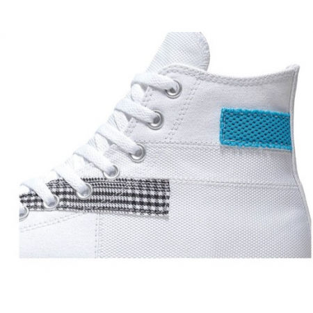 Men's ankle sneakers - Converse CHUCK TAYLOR ALL STAR PATCHWORK HIGH - 2