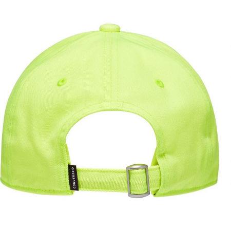 Czapka z daszkiem uniseks - Converse LOCK UP BASEBALL CAP MPU - 2