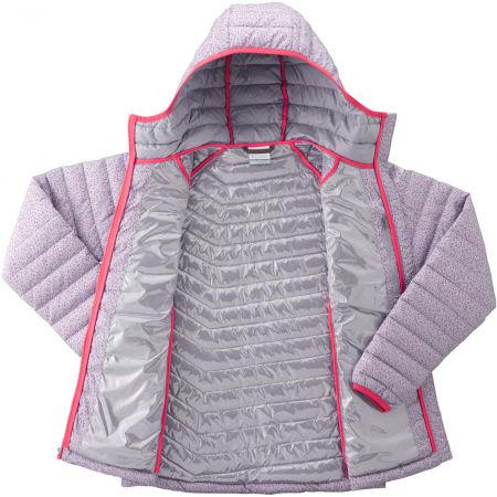 Dámská zimní bunda - Columbia POWDER LITE HOODED JACKET - 4