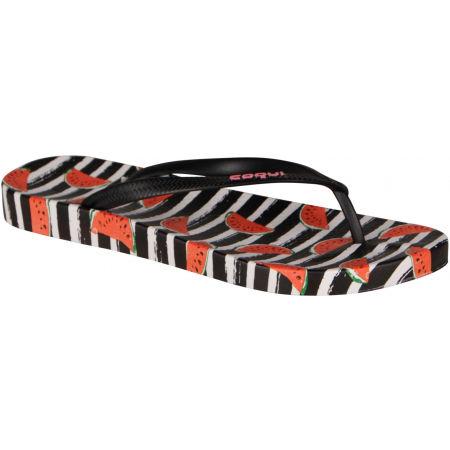 Women's flip-flops - Coqui KAJA PRINTED - 6