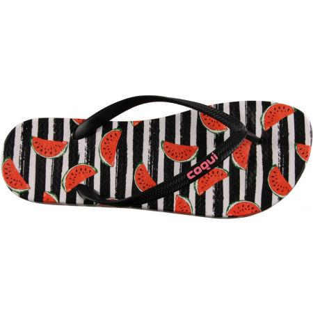 Women's flip-flops - Coqui KAJA PRINTED - 9
