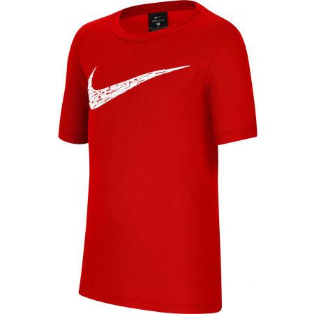 Тениска за тренировка за момчета - Nike CORE PERF SS TOP B - 1