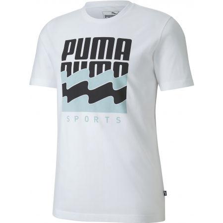 Pánske športové tričko - Puma SUMMER GRAPHIC TEE - 1