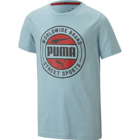 Boys' sports T-shirt - Puma ALPHA SUMMER TEE - 1