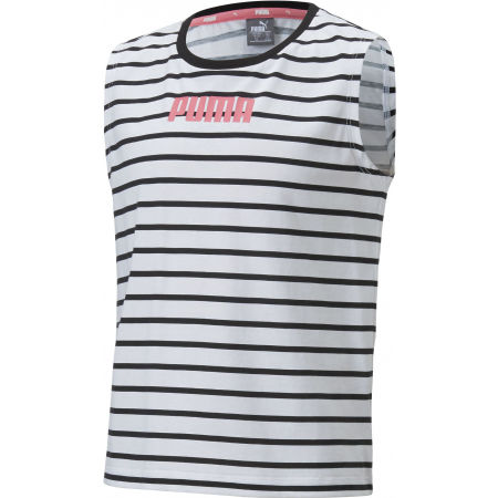Puma ALPHA STRIPED TANK G - Girls' top