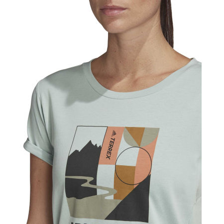 Дамска туристическа тениска - adidas TX ADVENTURE - 9