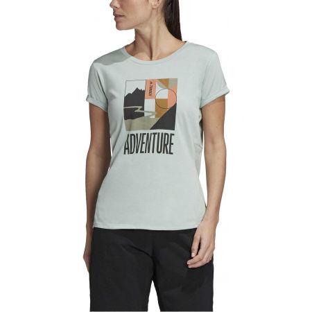 Дамска туристическа тениска - adidas TX ADVENTURE - 3