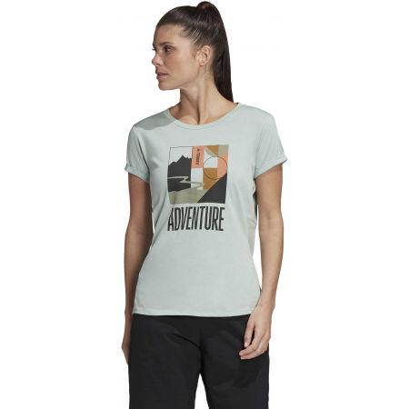 Дамска туристическа тениска - adidas TX ADVENTURE - 4