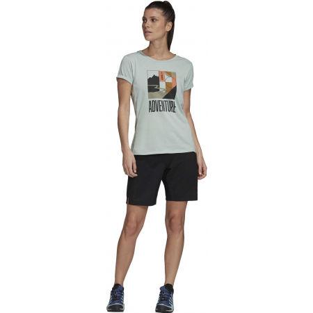Дамска туристическа тениска - adidas TX ADVENTURE - 8