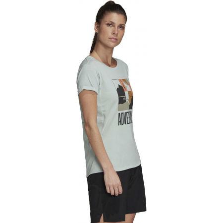 Дамска туристическа тениска - adidas TX ADVENTURE - 5