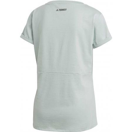 Дамска туристическа тениска - adidas TX ADVENTURE - 2