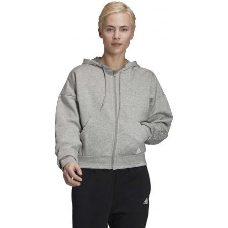 Hanorac damă - adidas BOS AOP FZ HD - 4