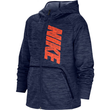 Nike THERMA GFX FZ HOODIE B - Chlapčenská mikina