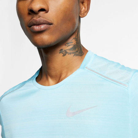 Tricou alergare bărbați - Nike DRY MILER TOP SS M - 5
