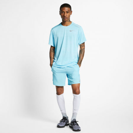 Tricou alergare bărbați - Nike DRY MILER TOP SS M - 8