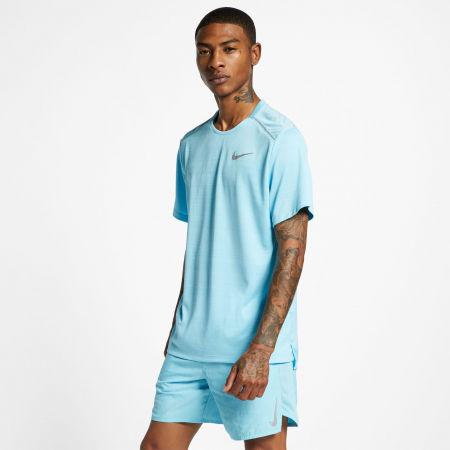 Tricou alergare bărbați - Nike DRY MILER TOP SS M - 3
