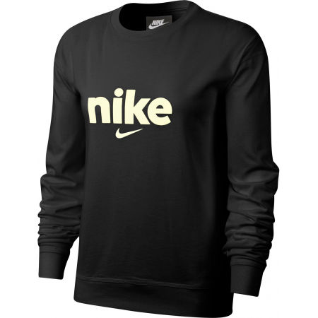 Nike NSW CREW HBR VRSTY W - Dámské triko s dlouhým rukávem