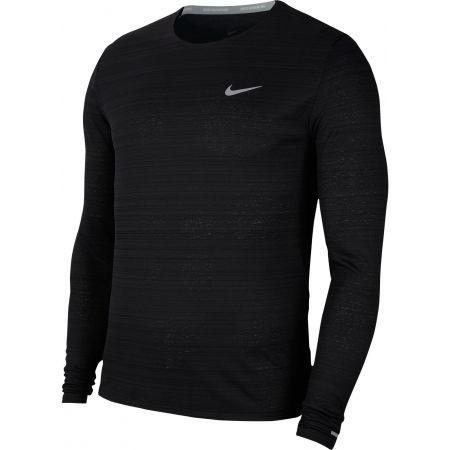 Pánske bežecké tričko s dlhým rukávom - Nike DRI-FIT MILER - 1