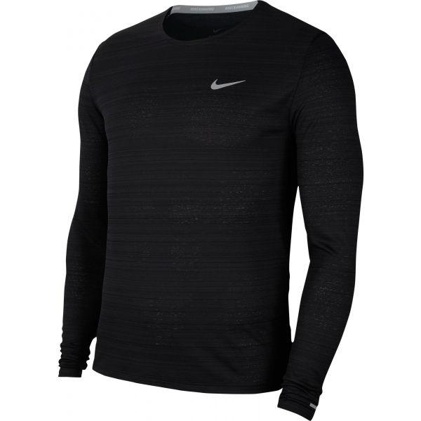 Nike DRI-FIT MILER  L - Pánské běžecké triko s dlouhým rukávem