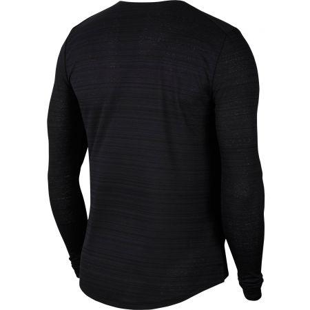 Pánske bežecké tričko s dlhým rukávom - Nike DRI-FIT MILER - 2
