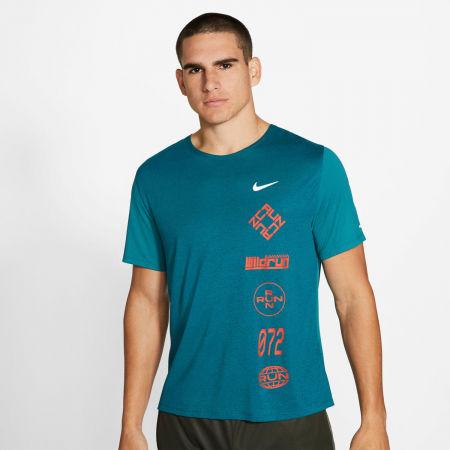 Мъжка тениска за бягане - Nike DF MILER TOP SS WR GX - 3