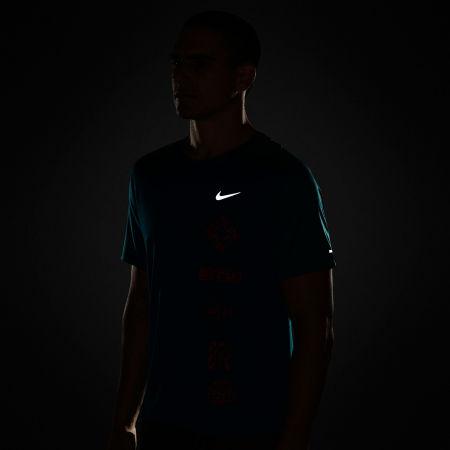 Мъжка тениска за бягане - Nike DF MILER TOP SS WR GX - 5