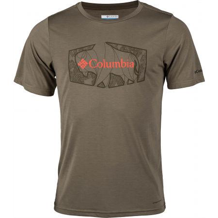 Pánske tričko - Columbia TERRA VALE™ II SS TEE - 1