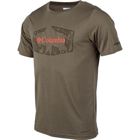 Pánske tričko - Columbia TERRA VALE™ II SS TEE - 2