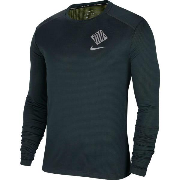 Nike PACER CREW WR GX M  S - Pánské běžecké triko s dlouhým rukávem