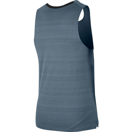 Men's running tank top - Nike DF MILER TANK M - 2