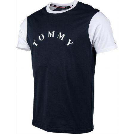 Pánske tričko - Tommy Hilfiger CN SS TEE LOGO - 2