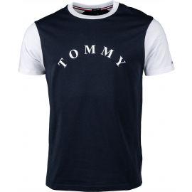 Tommy Hilfiger CN SS TEE LOGO - Мъжка тениска
