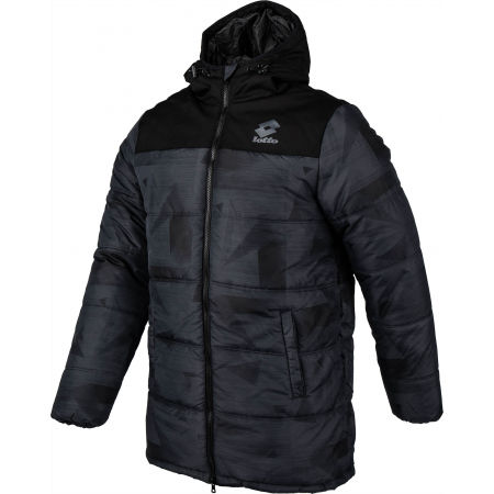 Pánska zimná bunda - Lotto JACKET CERVINO PAD HD PRT 2 PL - 2