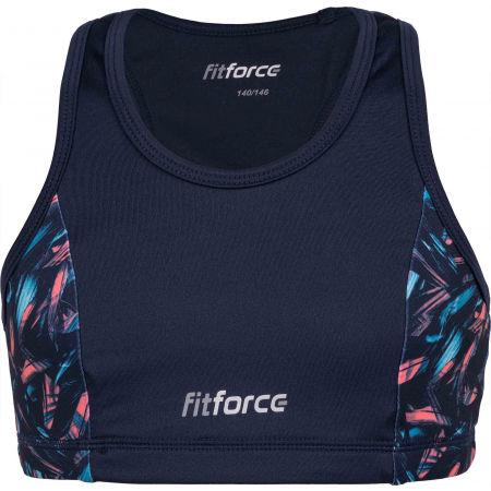 Fitforce REDONDA - Dívčí fitness podprsenka