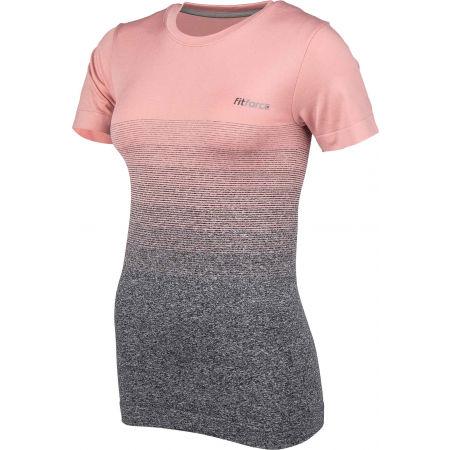 Dámske fitness tričko - Fitforce ROXA - 2