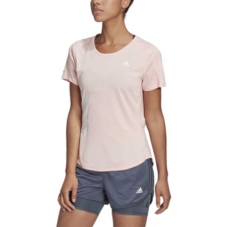Women's sports T-shirt - adidas RUN IT TEE 3S W - 3