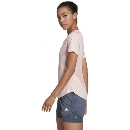 Dámské sportovní tričko - adidas RUN IT TEE 3S W - 5