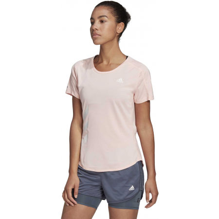 Women's sports T-shirt - adidas RUN IT TEE 3S W - 4
