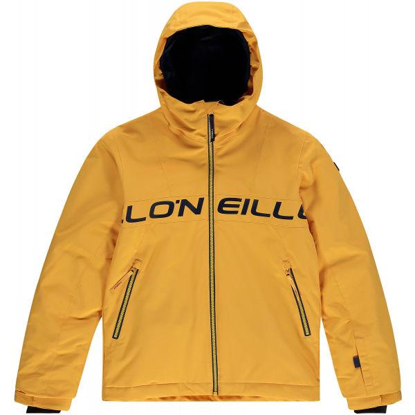 O'Neill PB VOLCANIC JACKET  128 - Chlapecká lyžařská/snowboardová bunda