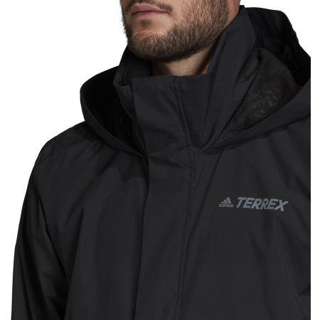 Мъжко водоустойчиво яке - adidas AX JKT - 9