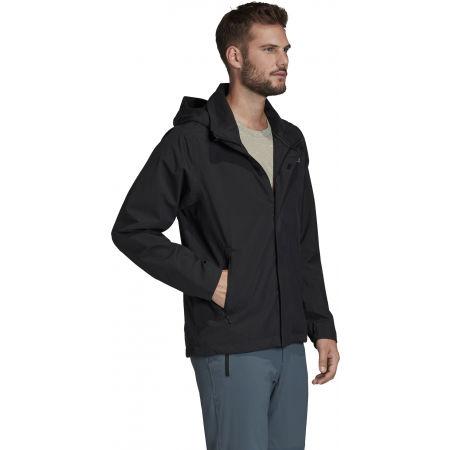 Мъжко водоустойчиво яке - adidas AX JKT - 5