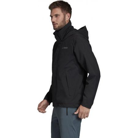 Мъжко водоустойчиво яке - adidas AX JKT - 6