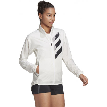 Women's sports jacket - adidas AGR WIND J - 5