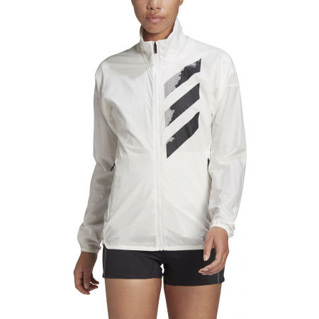 Women's sports jacket - adidas AGR WIND J - 3