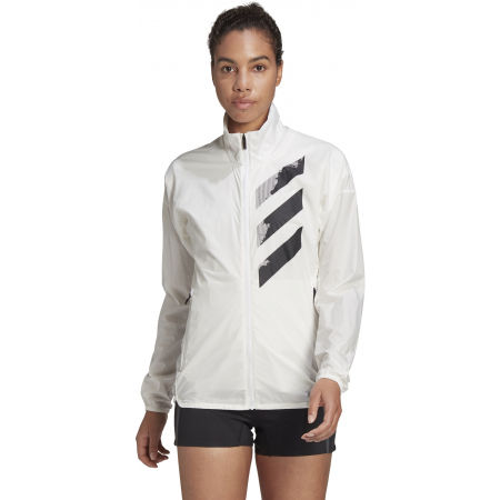 Women's sports jacket - adidas AGR WIND J - 4