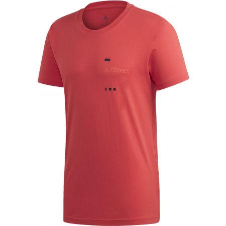 adidas TERREX GFX TEE - Pánské tričko