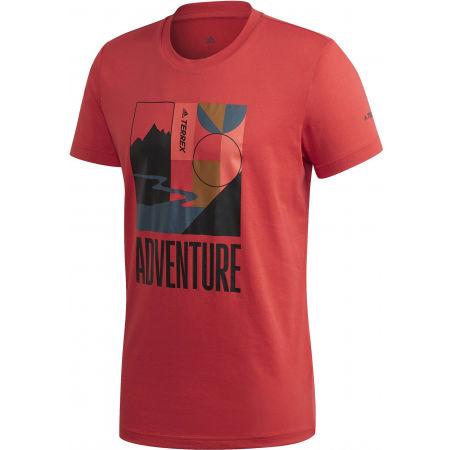 adidas TX ADVENTURE T - Herren Shirt