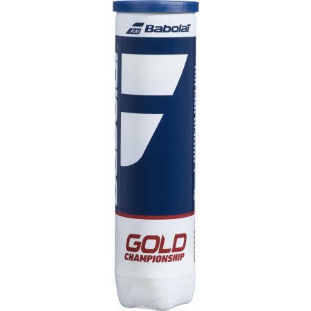 Tennis balls - Babolat GOLD CHAMPIONSHIP X4