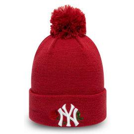 New Era MLB WMNS TWINE BOBBLE KNIT NEW YORK YANKEES - Dámska zimná klubová čiapka